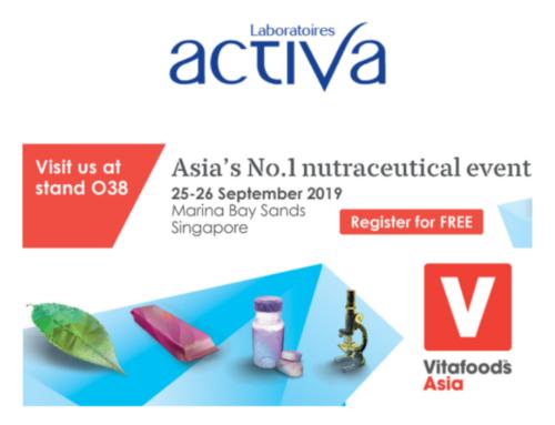 [ASIA] Laboratoires Activa at Vitafoods Asia