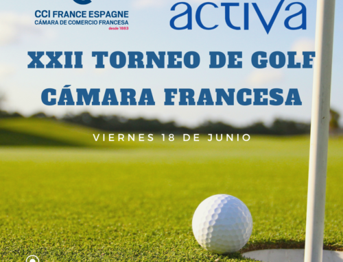 Laboratoires Activa, el patrocinador oficial del XXII torneo de golf de la cámara de comercio francesa de Barcelona.