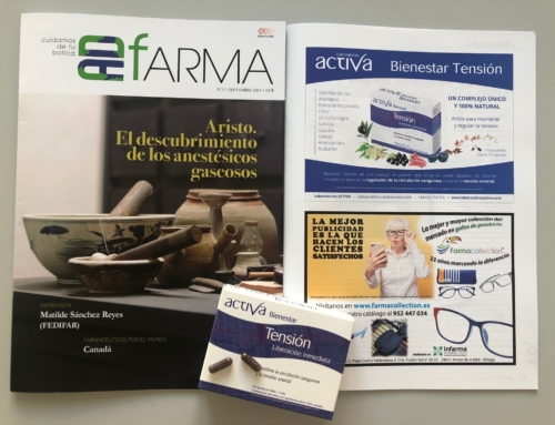 Bienestar Tensión, nuestro BEST SELLER, es publicado en dos grandes revistas farmacéuticas españolas.