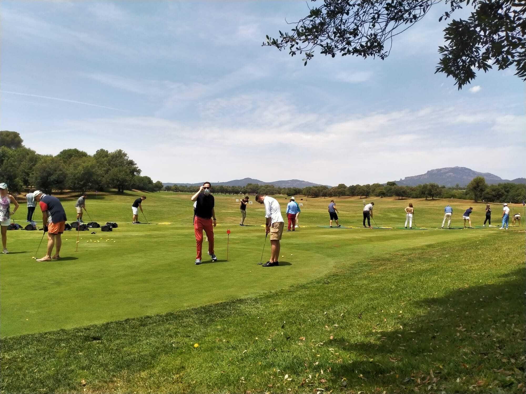 Tournoi de golf en Espagne