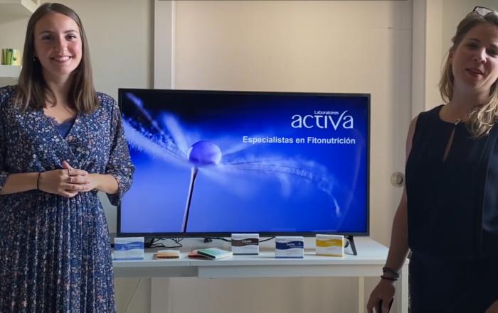 Océane (Area manager) et Marie-Laure (Business developer), présente les Laboratoires Activa