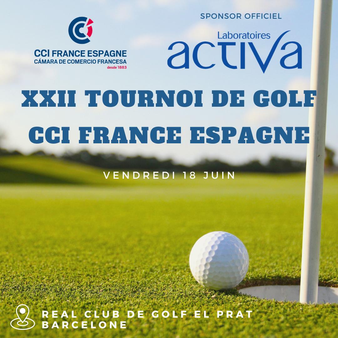 Tournoi de golf Barcelone