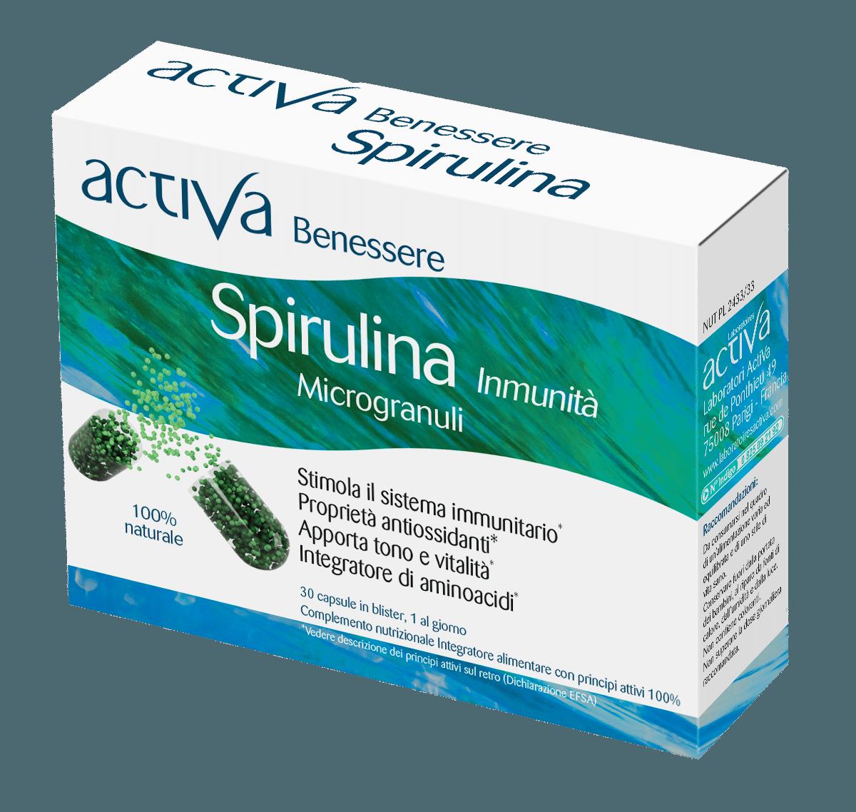 Benessere Spirulina