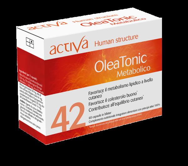 Human Structure Oleatonic Metabolico